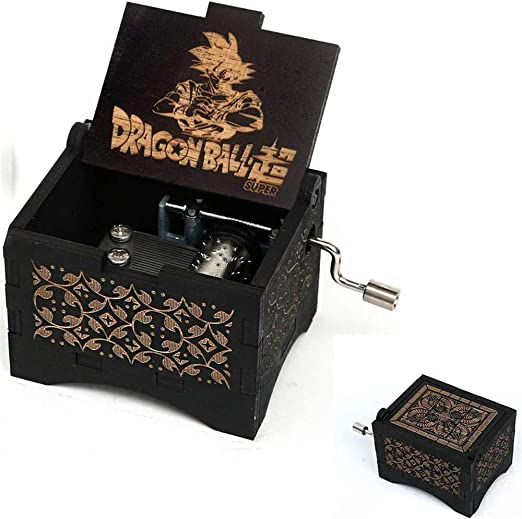 Caja de música Cuzit Dragon Ball de madera, personalizable, caja de música, grabada con láser, caja musical de madera, regalo para cumpleaños/Navidad: Amazon.es: Hogar