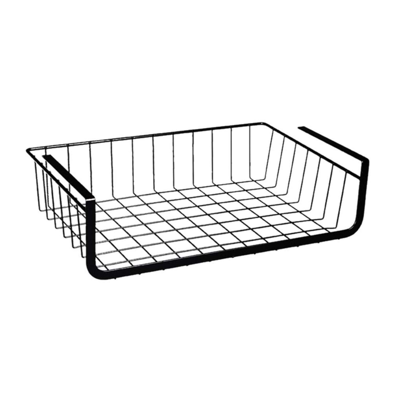 Refrigerator Storage Basket Kitchen Storage Rack Under Cabinet Shelf Organizer