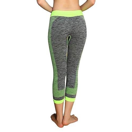 Amazon.com: Cliramer - Pantalones de deporte para mujer con ...
