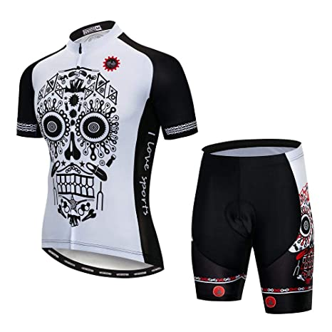 weyb Trajes De Jersey De Ciclismo para Hombres Ropa De ...