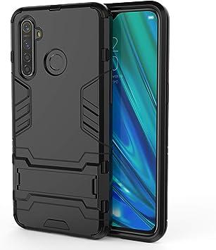 HDOMI Funda OPPO Realme 5 Pro/Realme Q,Desmontable PC + Silicona Gel TPU Cubierta Protectora de Doble Capa para OPPO Realme 5 Pro/Realme Q (Negro): Amazon.es: Electrónica