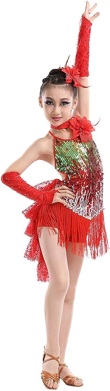 2019 Ballroom Latin dance Competition dance dress 147