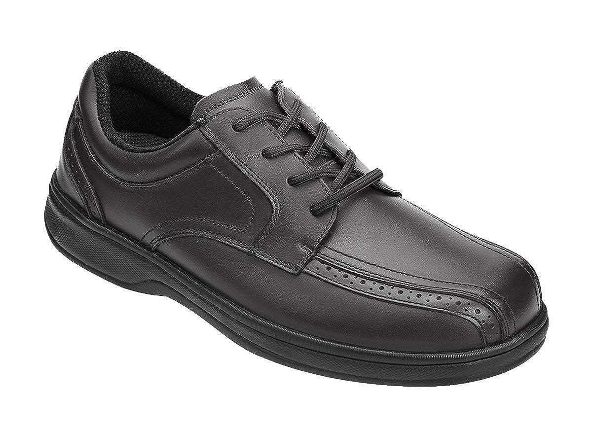 5e5c0c413 Amazon.com  Orthofeet Proven Pain Relief Plantar Fasciitis Orthopedic  Comfortable Diabetic Flat Feet Gramercy Men s Dress Shoes  Shoes