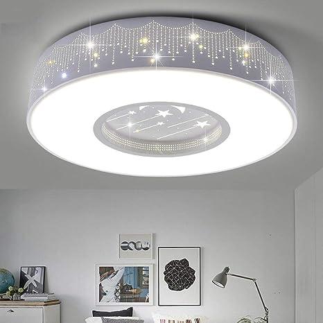 CWJ Luz de Techo- habitación para niños led acrílico Redondo Caja Blanca luz de Techo
