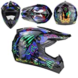 Motorcycle Helmet Adult Motocross Off Road Bike ATV Dirt Downhill MTB DH Racing Cross DOT