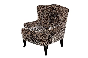 Peppermill Interiors LEOPARD PRINT ARMCHAIR VELVET ANIMAL PRINT CHAIR STATEMENT CHAIR ACCENT CHAIR  sc 1 st  Amazon.co.uk & Peppermill Interiors LEOPARD PRINT ARMCHAIR VELVET ANIMAL PRINT ...