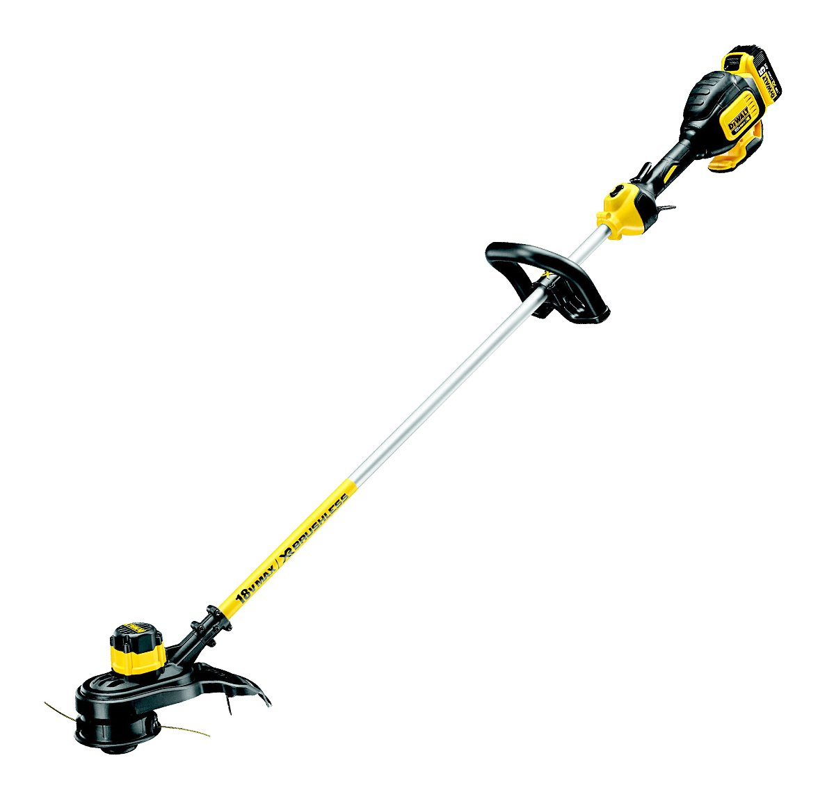 DEWALT DCM561P1-GB 18V Li-Ion XR Cordless Brushless Line Trimmer DCM561P1 -GB
