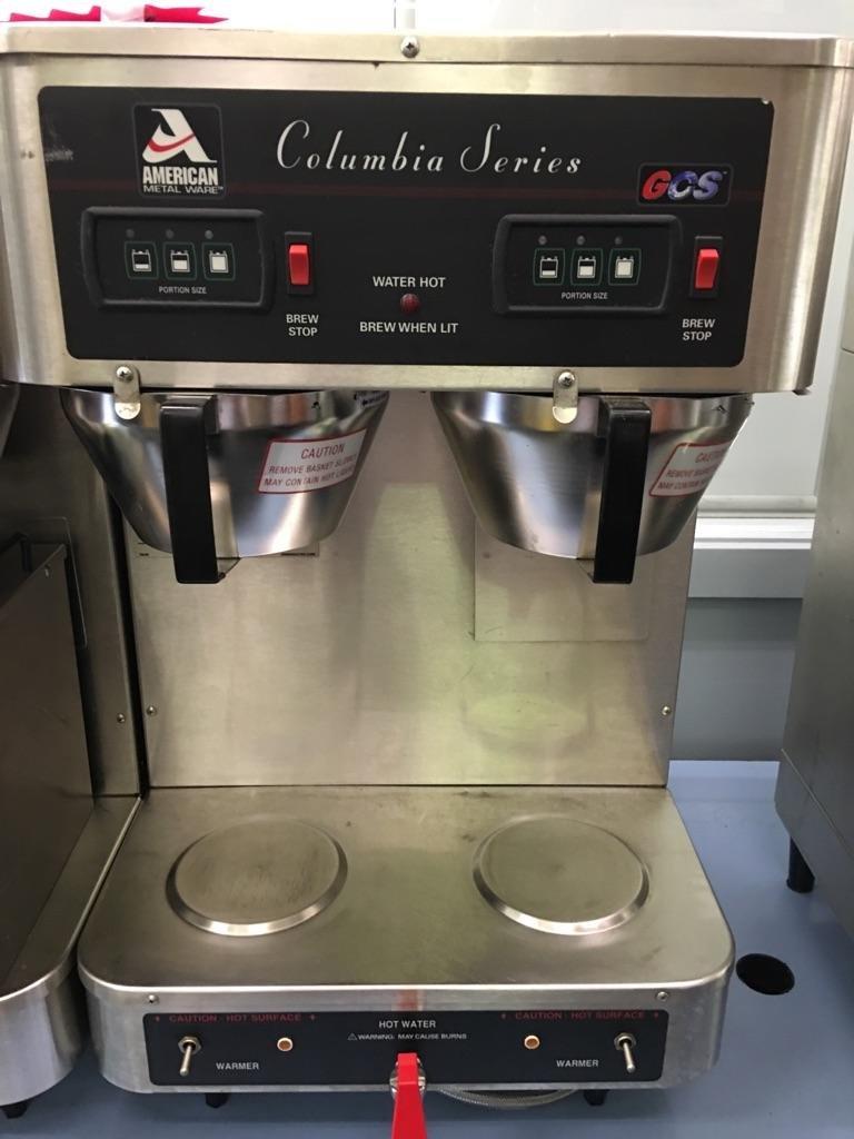 Used Amercian Metal Ware Columbia Series Satellite Coffee Brewer