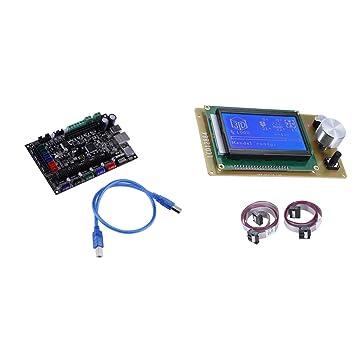 MagiDeal Tarjeta d Control de Impresora 3D MKS SBASE V1.3 ...