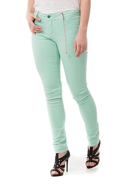 a2bf221b36e5a Kaporal Jeans - Pantalones jeans de mujer Kaporal Jeans color turquesa agua  cielo Power - 27
