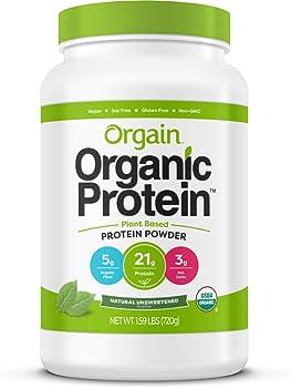 Orgain Organic Plant Based Protein Powder (1.59 lb)
