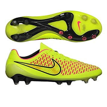 Nike Magista Opus FG Botines De Fútbol (Voltios/Oro Metálico/Negro) (8): Amazon.es: Deportes y aire libre