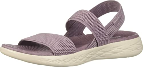skechers purple sandals