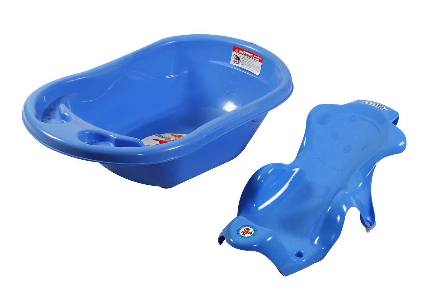 Buy Sunbaby Bath Tub with Bath Sling Combo (Blue) Online at Low ...