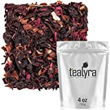 Tealyra - Cherry Goddess - Fruity Herbal Loose Leaf Tea - Caffeine-Free - Vitamin Rich - Hot and Iced - All Natural - 110g (4-ounce)