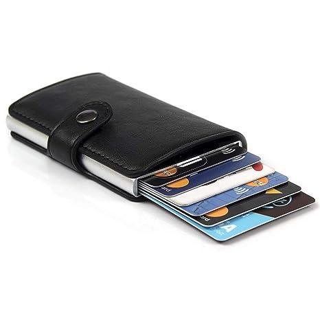 8169eca35d Porta Carte di Credito da Uomo | Portafoglio per Carte di Credito e  Banconote con Protezione ...