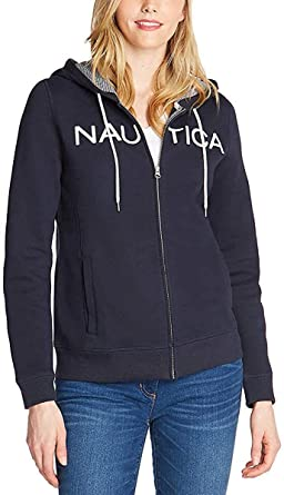 Nautica Sudadera con Capucha para Mujer (100% algodón)