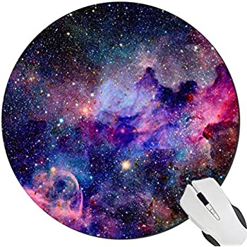 Galaxy Customized Round Mouse Pad 7.8X7.8 inch