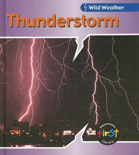 Download Thunderstorm (Wild Weather) pdf epub