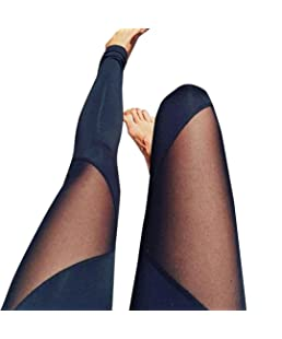 ❤️ Pantalones de Mujer Leggings de Fitness,Cintura Yoga Running Gym Pantalones Deportivos elásticos Absolute