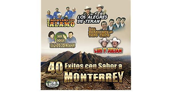 VARIOS - 40 EXITOS CON SABOR A MONTERREY - VARIOS - 40 EXITOS CON SABOR A MONTERREY - Amazon.com Music