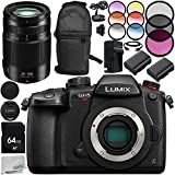 Panasonic Lumix DC-GH5S Mirrorless Micro Four Thirds Digital Camera with G X Vario 35-100mm f/2.8 II Lens 13PC Accessory Kit – Includes 64GB SD Memory Card + MORE - International Version (No Warranty)