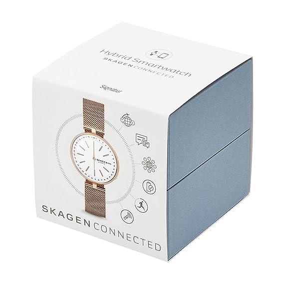Skagen Mixte Analogique Quartz Montre avec Bracelet en Acier Inoxydable SKT1404: Amazon.fr: Montres