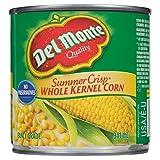 Del Monte Summer Crisp Whole Kernel Corn Fancy, 341 ml, Pack of 12