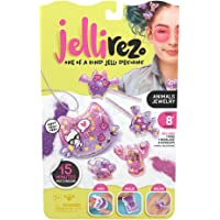 Jelli Rez Animals Jewelry Pack - Quick & Easy DIYResin Inspired Craft Activity Kit for Kids Ages 7 & Up, Multicolor…