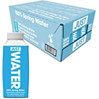 JUST Water, Premium Pure Still Spring Water in an Eco-Friendly BPA Free Plant-Based Bottle - Naturally Alkaline, High 8…