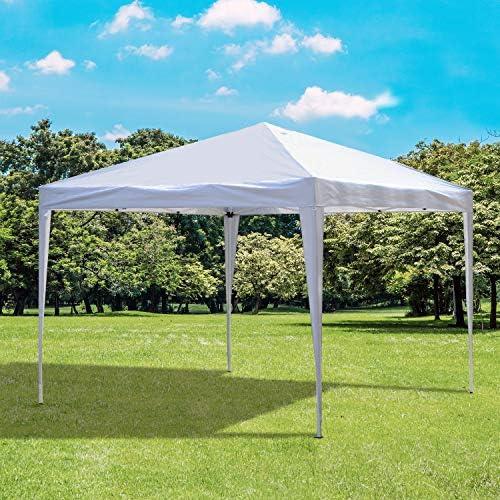 Tonnelle Barnum de jardín pop-up plegable 3L X 3L X 2, 55h M acero ...