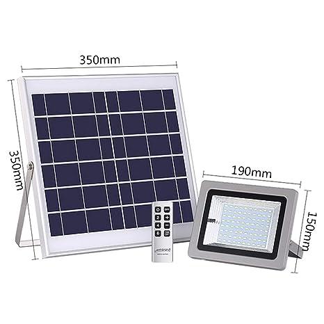 Xien Foco LED Proyector LED Foco Solar Luz De Inundación del ...