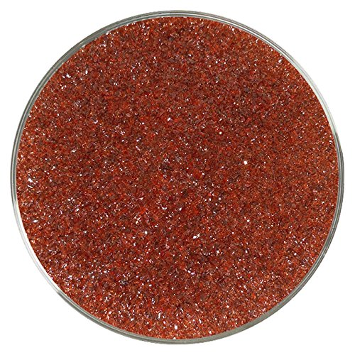 Black Cherry Opalescent Fine Frit - 96COE - 4oz - Made from System 96 Glass