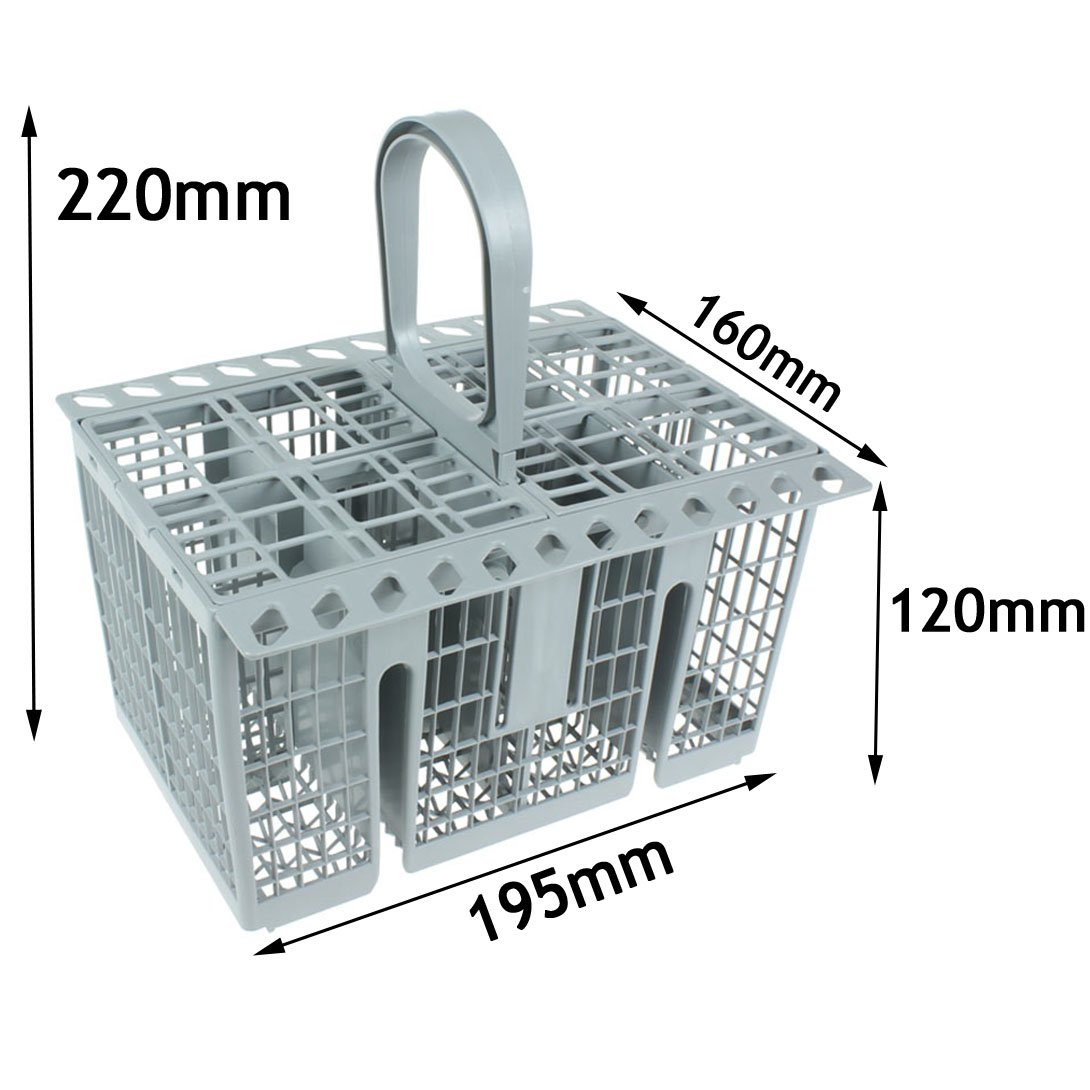 Spares2go Cutlery Basket Cage , Handle & Lid For Miele Dishwasher