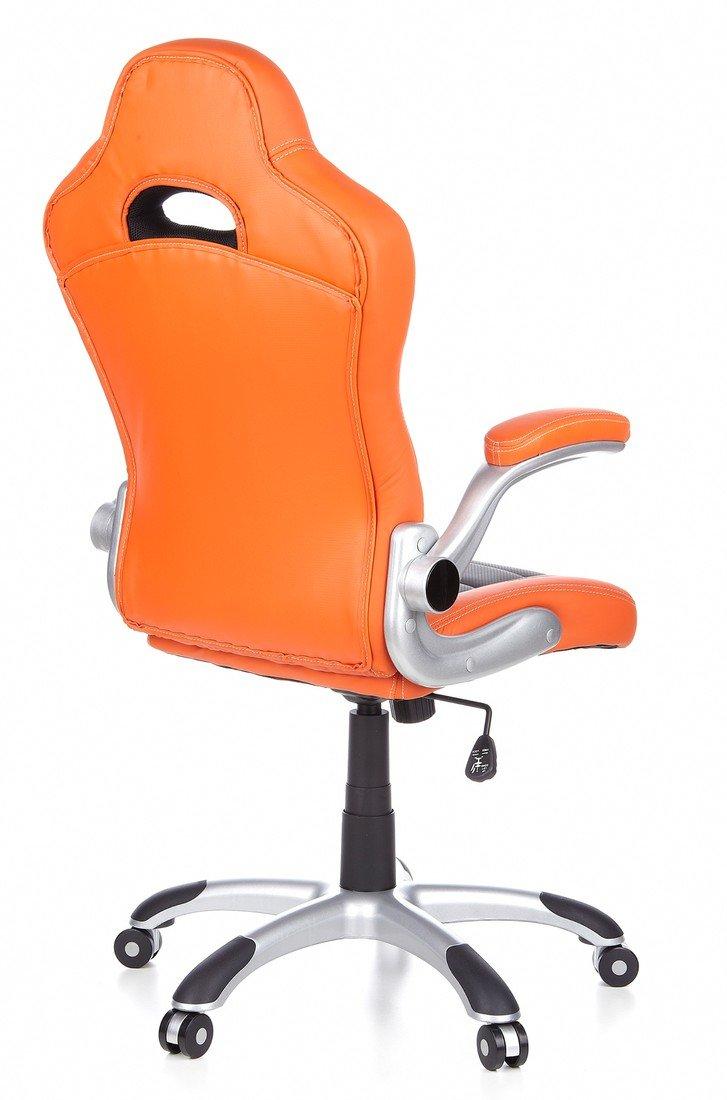 Hjh OFFICE 621700 Gaming PC Stuhl RACER SPORT Kunstleder Orange Orange Orange Grau Racing Computerstuhl mit klappbarer Armlehne 139c8b