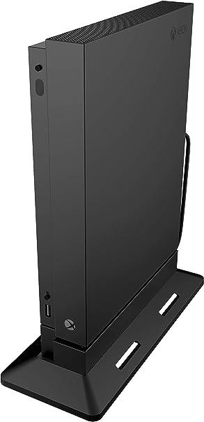 Soporte de ventilador de enfriamiento vertical para consola Xbox One X, sistema de ventilació (USB alimentado), Negro (solo compatible con Xbox One X): Amazon.es: Videojuegos