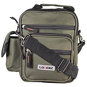 Lorenz Small Canvas Multi-Purpose Bag with Adjustable – Detachable Belt Loop