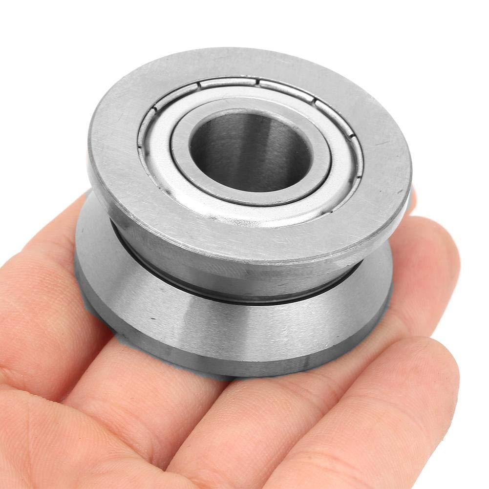Rodamientos de bolas de acero de 15 /× 41 /× 20mm LV202-41ZZ Rodamientos de bolas de precisi/ón V para maquinaria textil equipo electr/ónico