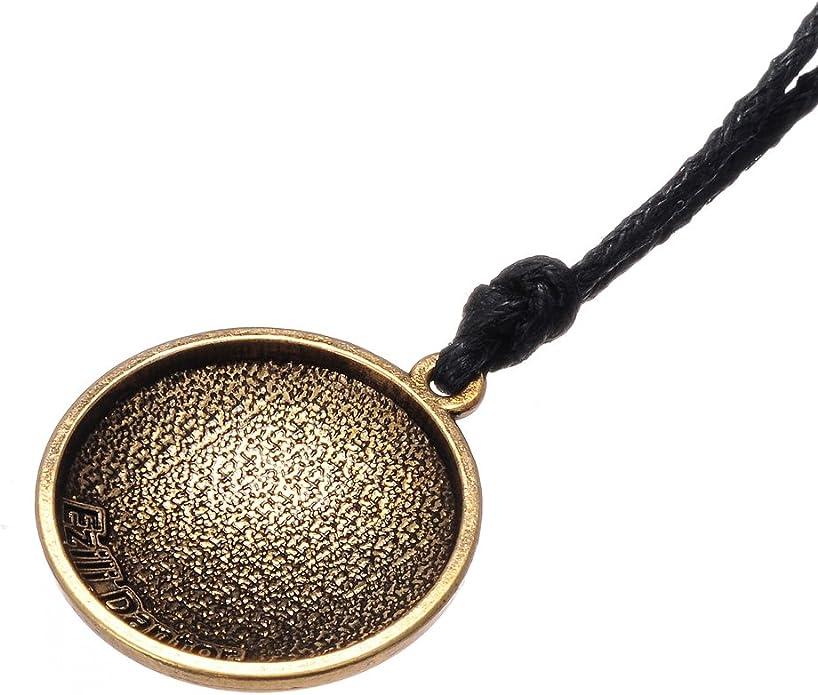 Vintage Gothique Amulette Ezili Dantor Loa V/év/é Pendentif vaudou Bijoux pour Femme