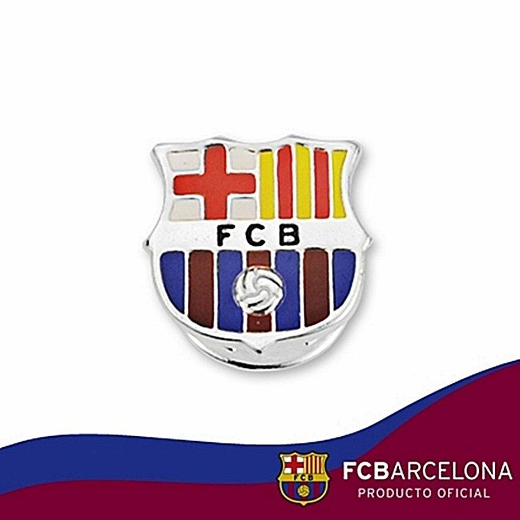 Pin escudo F.C. Barcelona Plata de ley esmaltado [6919] - Modelo ...
