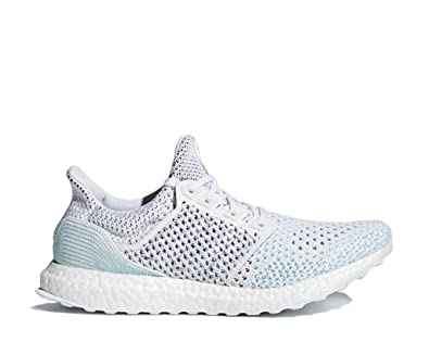 a9903fc12 Image Unavailable. Image not available for. Color  adidas UltraBOOST Clima  Parley LTD Shoe - Men s Running 18 Cloud White Blue Spirit
