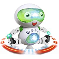 DIMY 2-5 Year Old Boy Gifts Toys, Dancing Robot Toys for Kids Toddlers Gifts for 2-5 Year Old 2-6 Year Old Toys Green DRB01