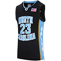 19f3abbe1 RAAVIN #23 North Carolina Mens Basketball Jersey Retro Jersey Blue S-3XL