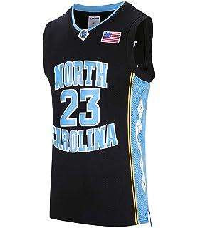 RAAVIN  23 North Carolina Mens Basketball Jersey Retro Jersey Blue S-3XL e6bc48932