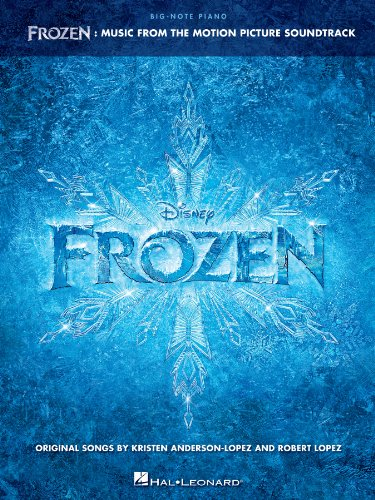 Frozen - Big-Note Piano Songbook: Music from the Motion Picture Soundtrack ()
