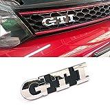 vw gli emblem - Ricoy Front Grille Emblem Chrome Badge Fit For Volkswagen VW Golf 5 GTI Mark5 MK5 MKV Decal Grille Logo
