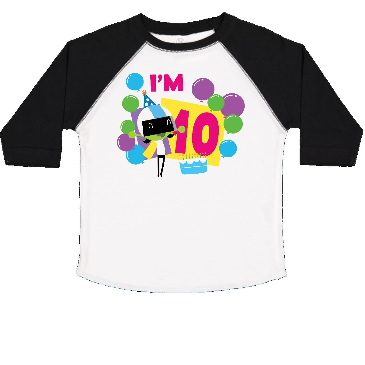 inktastic Im 4 with Dee and Balloons Toddler T-Shirt PBS Kids