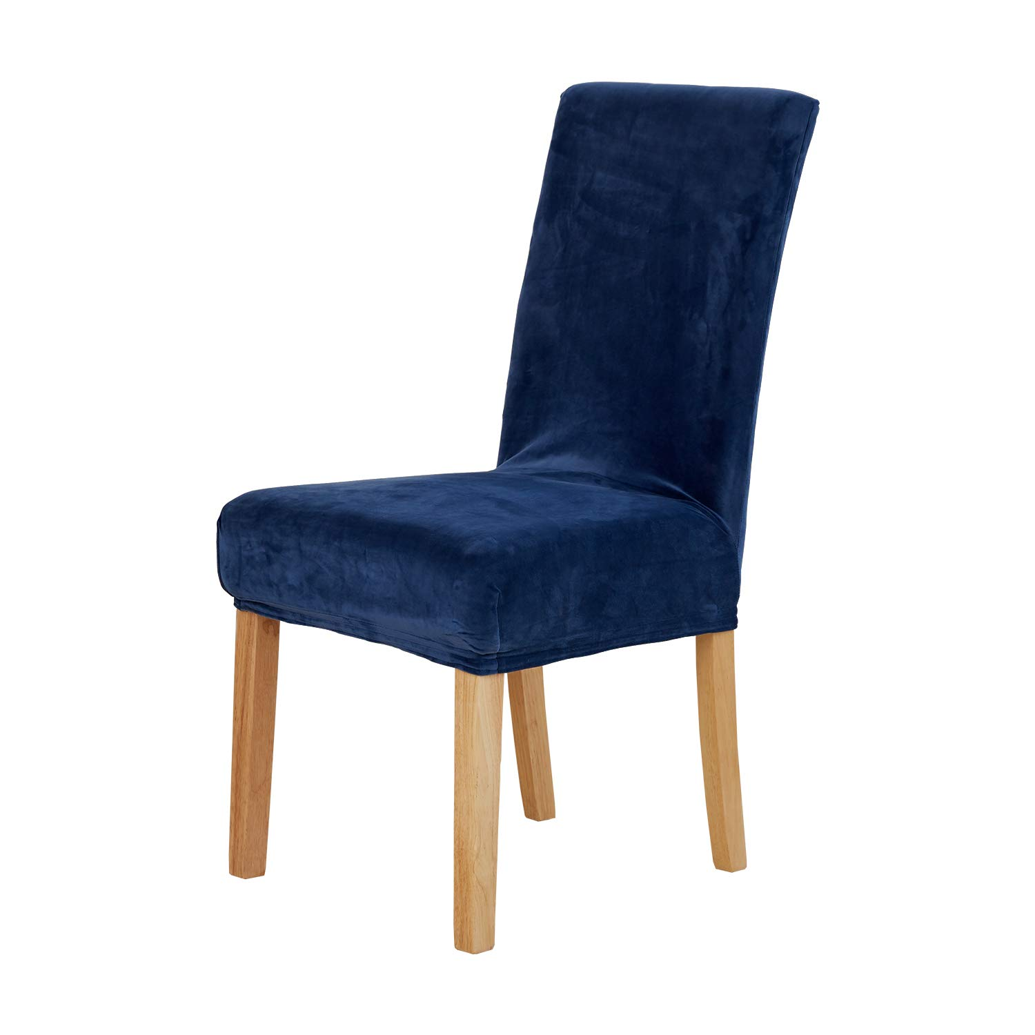 Amazon Com Deconovo Universal Dining Chair Covers Strench Navy Blue