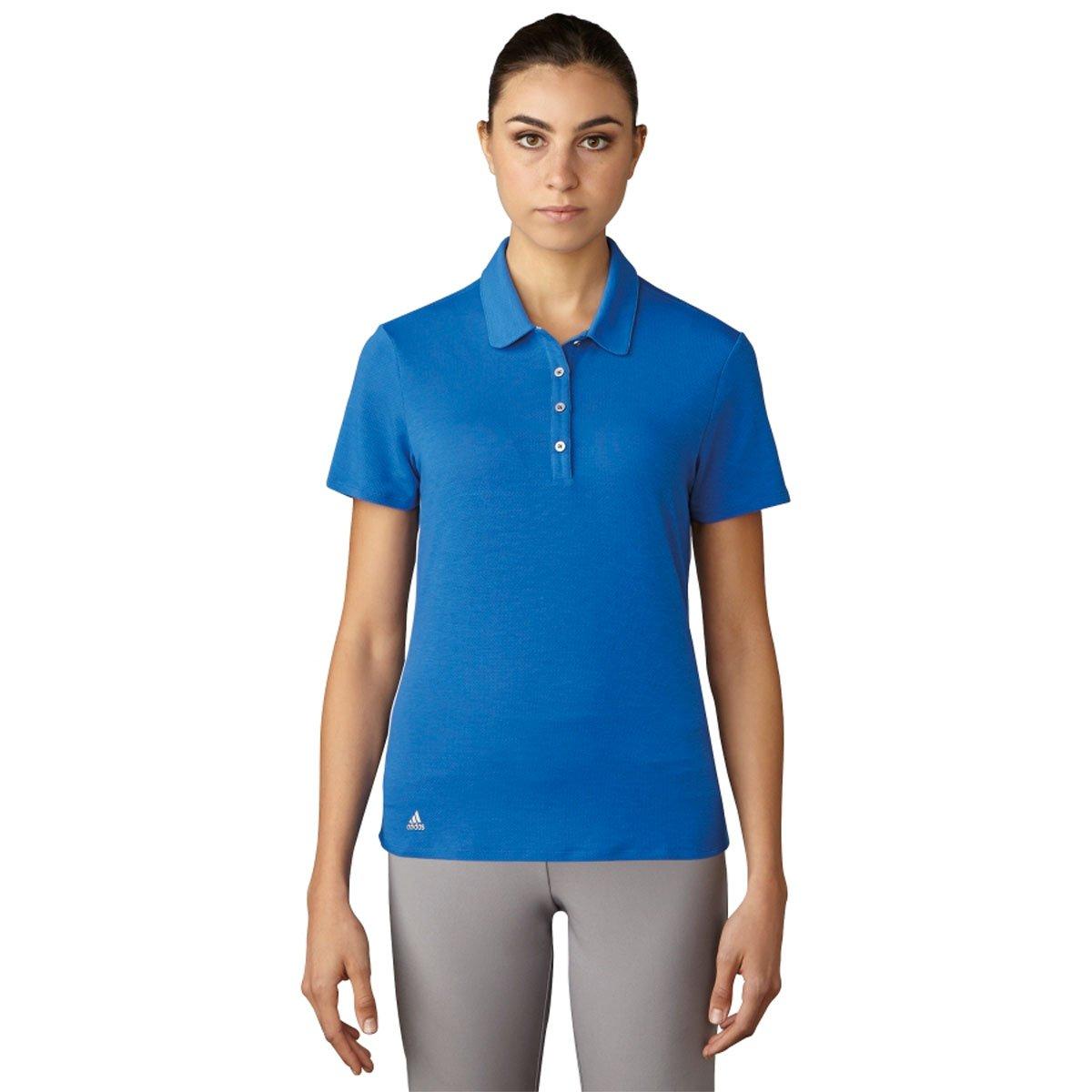 Adidas Golfレディース範囲WearポロTシャツ B01J23RBSE XL|ブルー ブルー XL