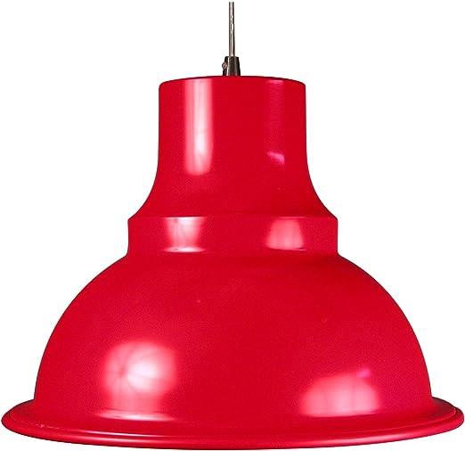 Aluminor LOFT R Suspension 40 W E27 Rouge: Amazon